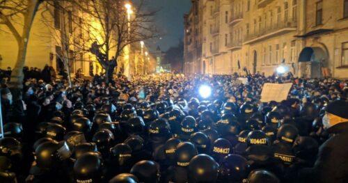 Справа Стерненка: під Офісом президента почалися сутички