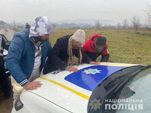 нелегали, Закарпатська область, кордон
