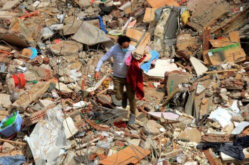 Єгипет - в Каїрі обвалилася багатоповерхівка, багато загиблих