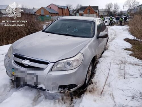 Львівська область, нетверезий водій, погоня, поліція