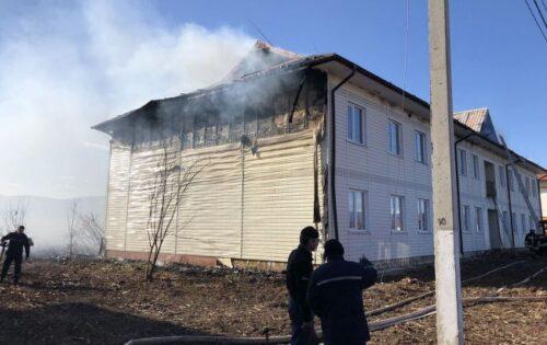 пожежа, ДСНС, Закарпатська область