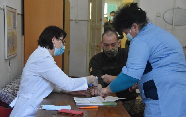 Вакцинація від коронавірусу в Україні: в ЗСУ почали робити щеплення військовим поза ООС