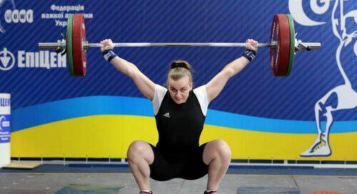 У Москві прогримів гімн України: українська важкоатлетка здобула «золото» на чемпіонаті Європи