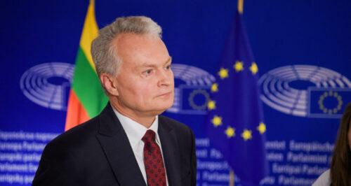 президент Литви, Науседа, Європа