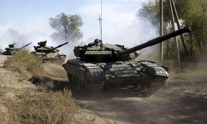 місія ОБСЄ, танки, бойовики, Донбас