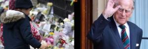 Гарматні постріли, море квітів та 10-денна жалоба: Британія прощається з принцом Філіпом (фото, відео)