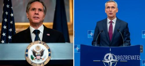"""""""НАТО важливо підтримувати Україну"""": Блінкен і Столтенберг зробили важливу заяву"""