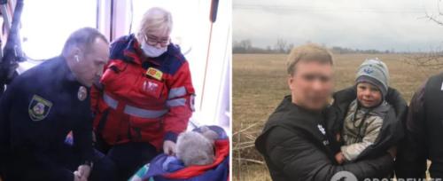 Ночував у лісі: показали відео зі знайденим 2-річним хлопчиком, який зник на Київщині