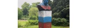 Російські футбольні фанати осквернили бюст Тараса Шевченка у Данії: деталі і фото